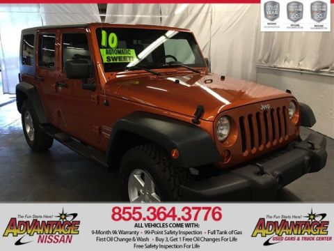 Used Jeep Wrangler Unlimited Unlimited Sport