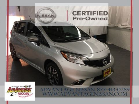 Certified Pre-Owned 2015 Nissan Versa Note SR