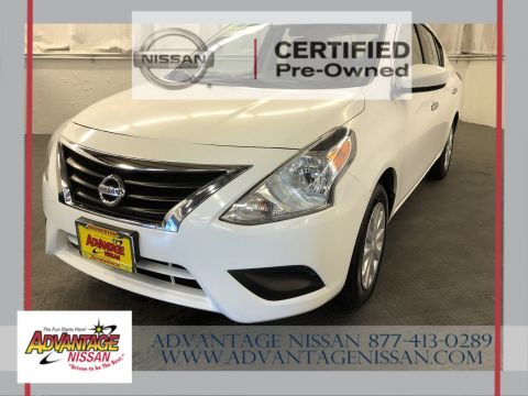 Certified Pre-Owned 2016 Nissan Versa SV