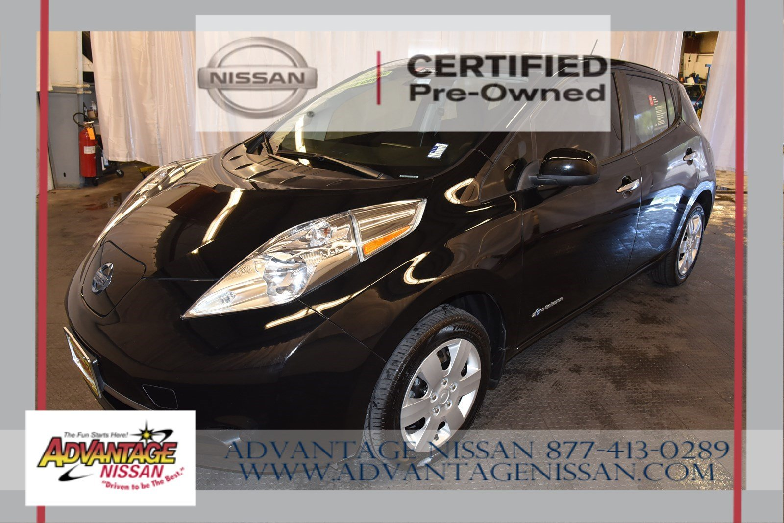 Certified Pre Owned 2017 Nissan Leaf S