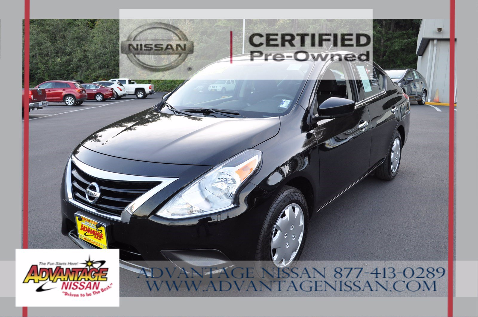 Certified Pre-Owned 2018 Nissan Versa Sedan SV