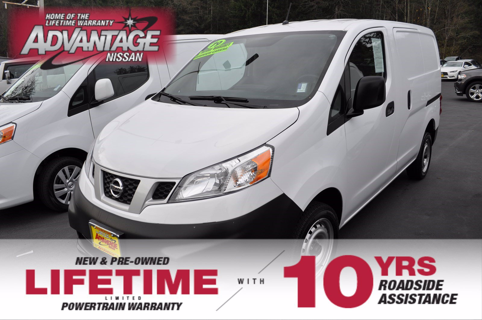 Pre-Owned 2019 Nissan NV200 Compact Cargo S