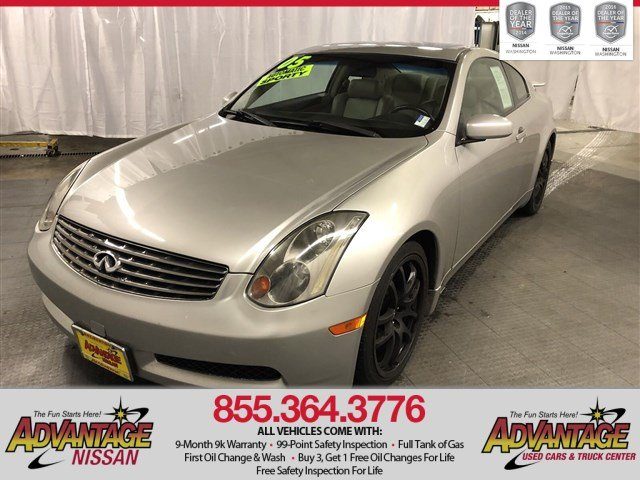 Pre-Owned 2005 INFINITI G35 Coupe Base