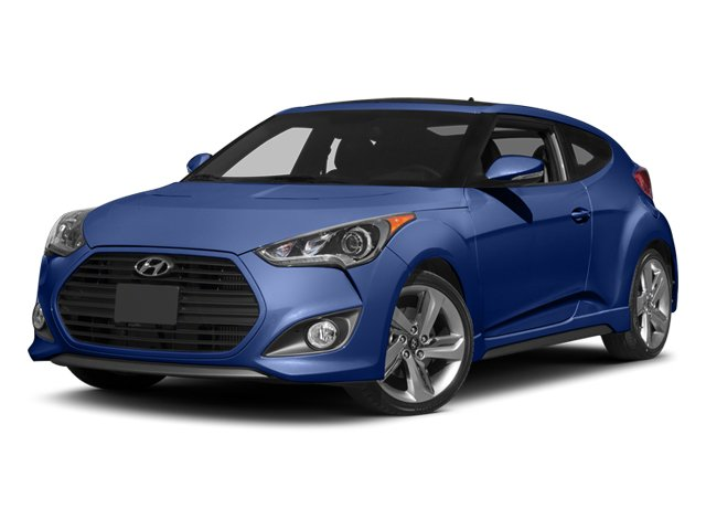 Pre-Owned 2013 Hyundai Veloster Turbo w/Blue Int